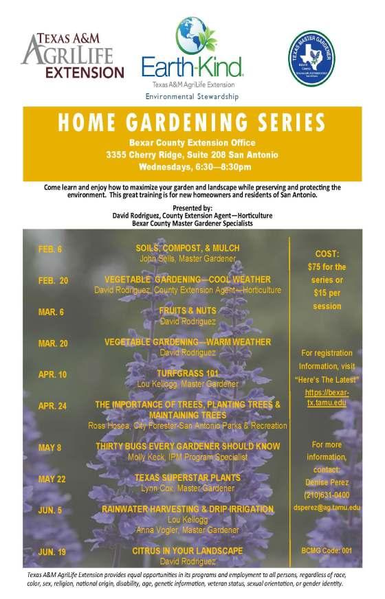 home gardening series 2019